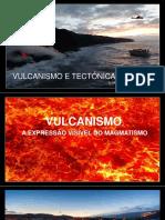 Vulcanismo e tectónica de placas