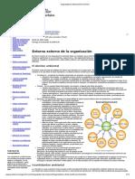 Organizations External Environment - Texto para leer