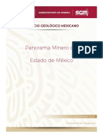 Panorama Minero del Estado de México