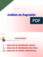 Presentación - Análisis de regresión
