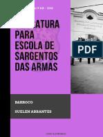 LITERATURA BARROCO