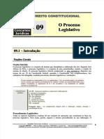 Direito Constitucional II - CNT 09 - O Poder Legislativo