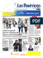 DIARIO LAS AMÉRICAS Edición semanal del 4 al 10 de septiembre de 2020