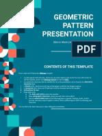 Geometric Pattern by Slidesgo