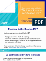 Tout savoir sur la certification ICF