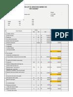 Cost estimate Docking List-OB Indo Marine 1018