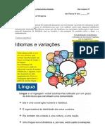 Roteiro de estudos - Variação Linguística.pdf