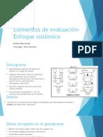 Elementos de evaluación-Enfoque sistémico