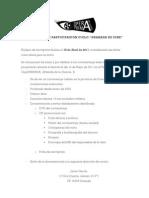 REQUISITOS DE PARTICIPACIÓN CICLO GRANADA DE CINE. 2011