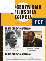 Afrocentrismo e filosofia egípcia