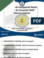 presentacion clase GUERRA IRREGULAR PDF