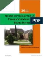 Metodologia Avaluo Masivo de Bienes Inmuebles 2011 - Norma Espanola - BLQ