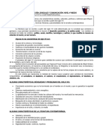 GUIA DE LENGUAJE Y COMUNICACIÓN NARRATIVA CONTEMPORÁNEA 2019 (PROFESORA ALICIA ROJAS)