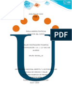 toxicologia Formato 1 - Reseña bibliográfica  educativa_ANÁLISIS DE CASO fase 3