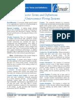 Glenair Connector Terms - Summary