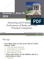 Session 3 - Evaluating Bank Preformance