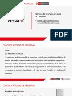 5.A. Control médico de personal