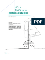 Formación y capacitación de los gestores culturales