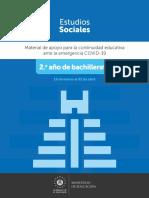 Guía de Estudios Sociales 2.º año