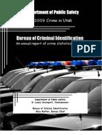 2009 Utah Crime Report