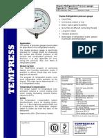 Tempress 1-41GB-Duplex-Pressure-Gauge-A11