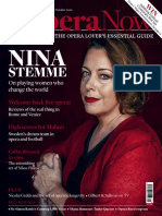 Opera Now - September-October 2020