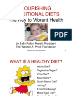 NOURISHING TRADITIONS DIETS-BOOK