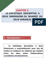 Chapitre II  La statistique  descriptive  à deux  dimensions.pdf
