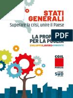 Stati Generali Cgil Puglia Documento Piattaforma 2020