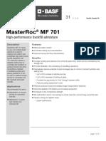 basf-masterroc-mf-701-tds