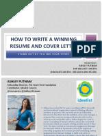 idealistcareers-resumecoverletter-presentation-140922075348-phpapp02