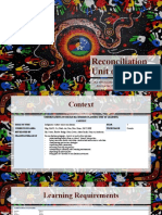 reconciliation unit of learning