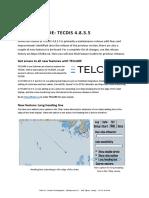 TECDIS Feature Guide 4.8.3.5