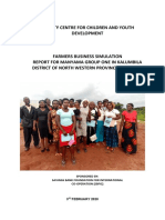 kalumbila - group two fbs training report