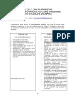 CÁLCULO COM ALMÔNDEGAS - versão final