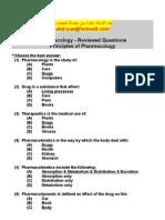 Pharmacology Key Answers الفصل الاول تمريض