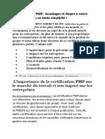 certification PMP