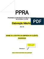 PPRA Modelo de Documento