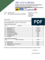 DAFTAR KEBUTUHAN SPAREPART NISSAN RF 10-1.docx