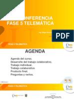 WEB CONFERENCIA FASE 5