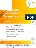 WEB CONFERENCIA FASE 4