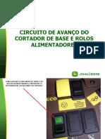 11101-CIRCUITO DE AVANÇO DO CORTADOR DE BASE E ROLOS ALIMENTADORES