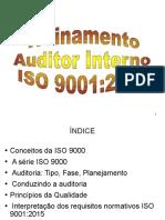 Treinamento Simples Auditor Interno ISO 90012015