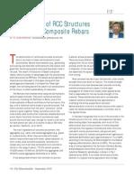 Sustainability of RCC using Basalt composite Rebars-MasterBuilder-Sept2010