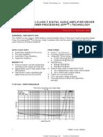 TA3020 Tripath Datasheet