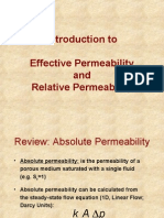 introductio effective permeability and relative permability