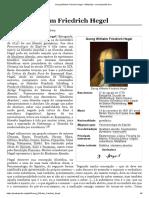 WIKIPEDIA. Friedrich Hegel (Português)