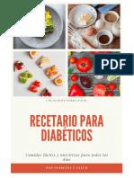 Recetario Para Diabéticos