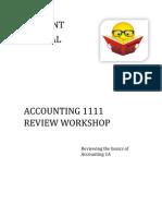 Student Manual Acct 1111