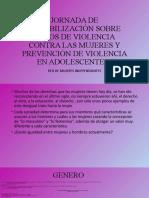 JORNADA DE SENSIBILIZACIÓN SOBRE VIOLENCIA.pptx